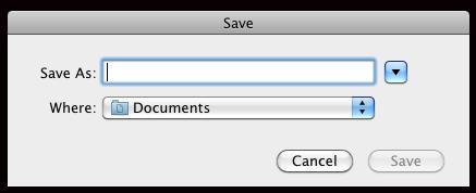 Definindo o local para salvar os arquivos