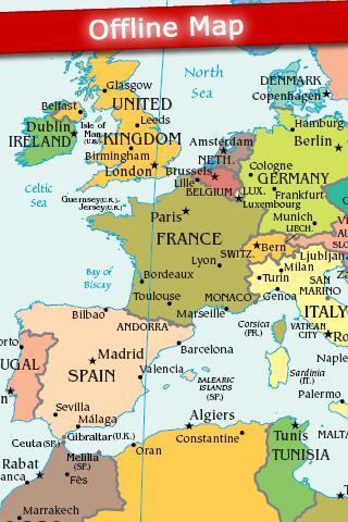 World Map 2012 Free - Imagem 1 do software