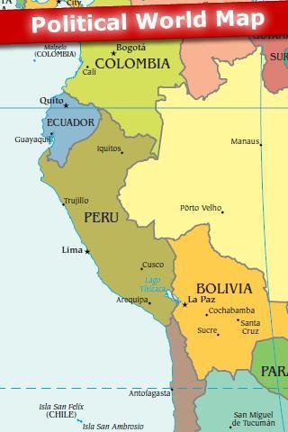 World Map 2012 Free - Imagem 2 do software