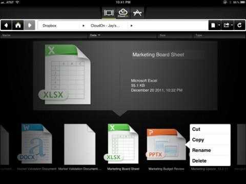 CloudOn - Imagem 2 do software