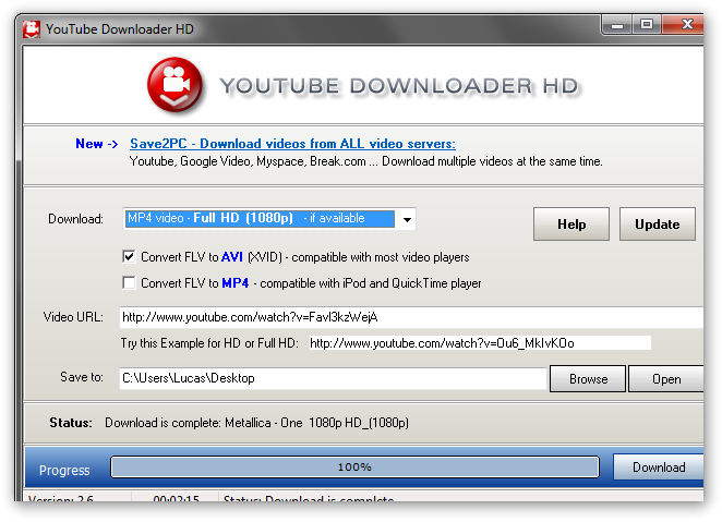 Youtube downloader hd download imagem 5 do youtube downloader hd stopboris Choice Image