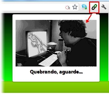 Kryptonita Quebra Links para Google Chrome.