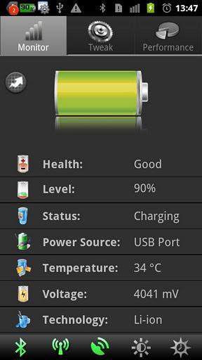 Battery Booster by IMOBLIFE - Imagem 4 do software