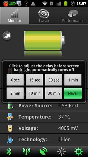 Battery Booster by IMOBLIFE - Imagem 3 do software