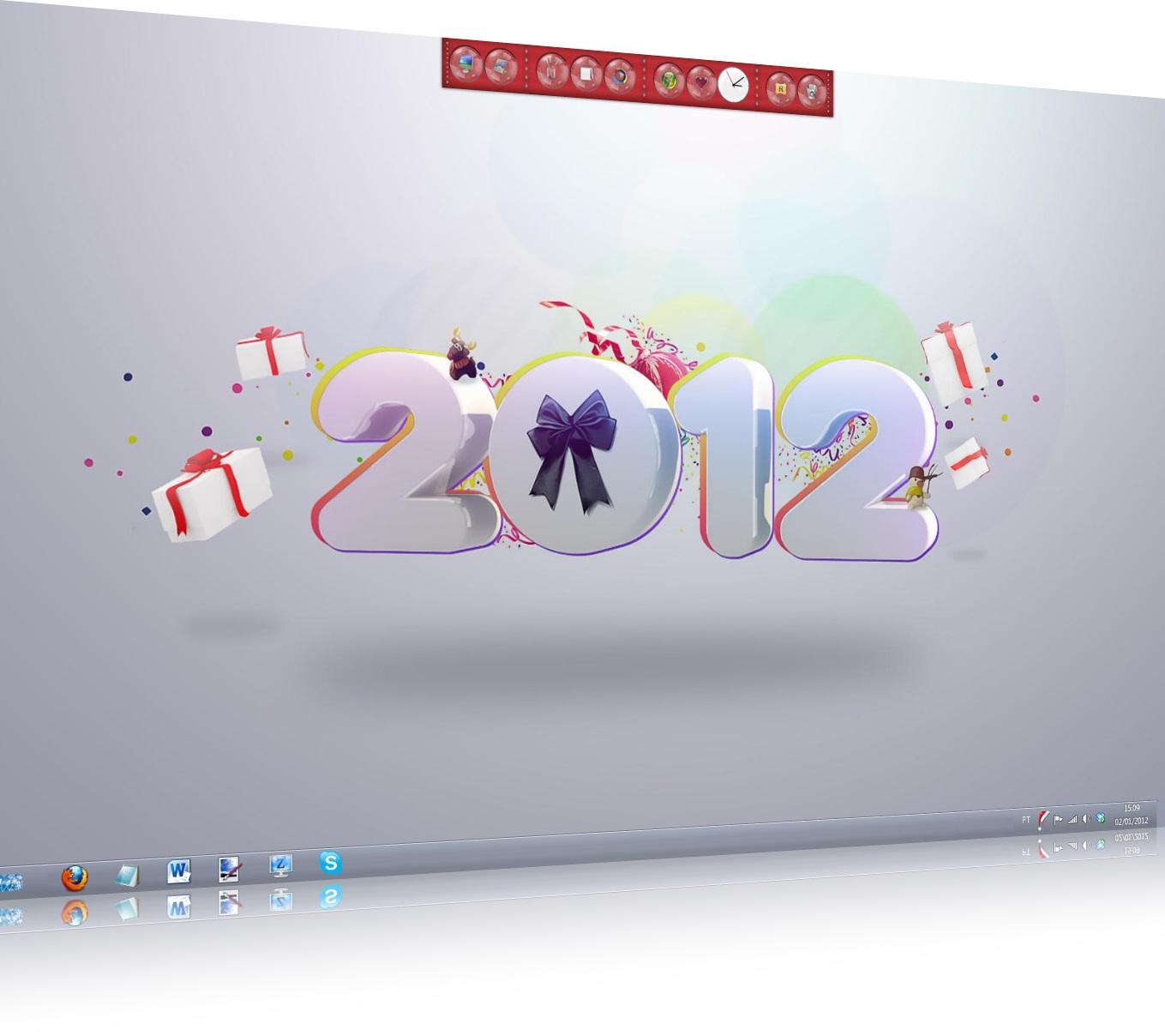 Novo tema para um novo ano!