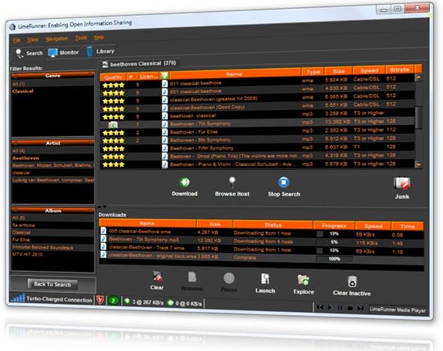 LimeRunner - Imagem 1 do software