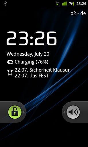 Lockscreen Calendar - Imagem 1 do software