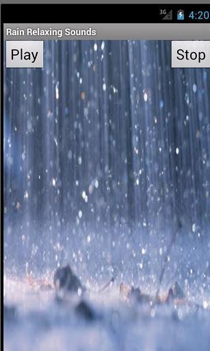 Rain Relaxing Sounds - Imagem 1 do software