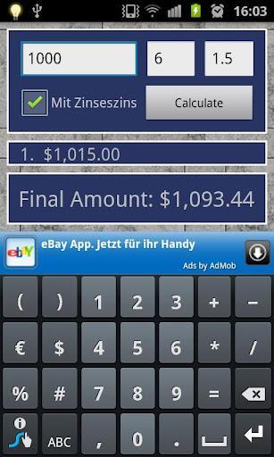 Interest Calculator - Imagem 1 do software