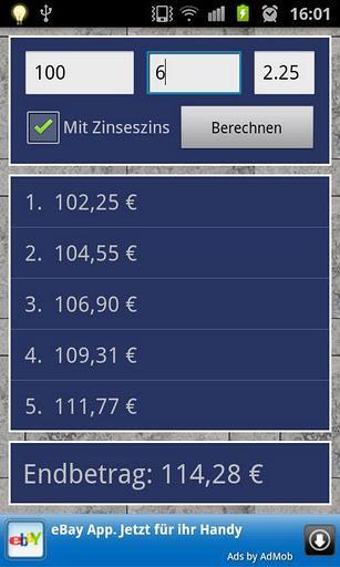 Interest Calculator - Imagem 2 do software