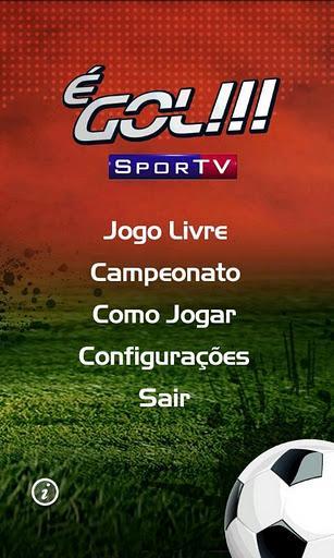 É Gol!!! SporTV - Imagem 1 do software