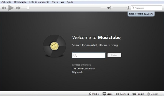 Musictube - Imagem 1 do software