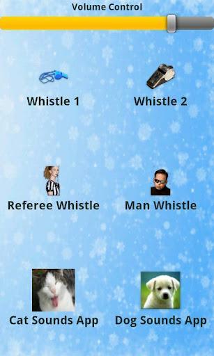Whistle Sounds - Imagem 2 do software