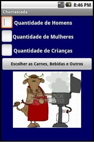 Calculadora para Churrasco - Imagem 1 do software