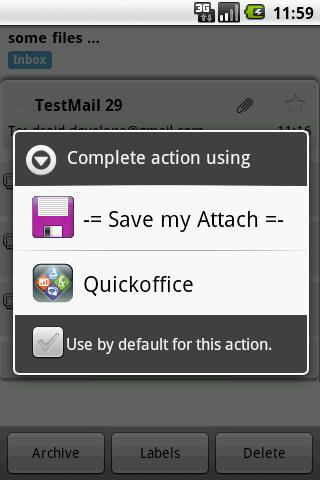 Save my Attach - Imagem 1 do software