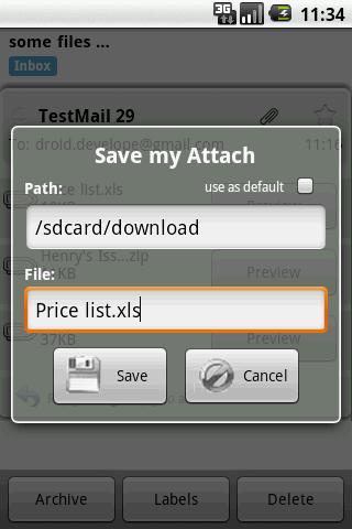 Save my Attach - Imagem 2 do software