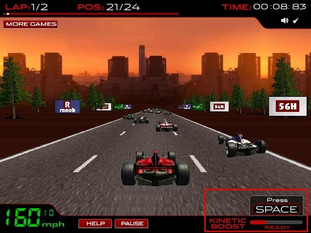 Formula 1 Racer - 3D.