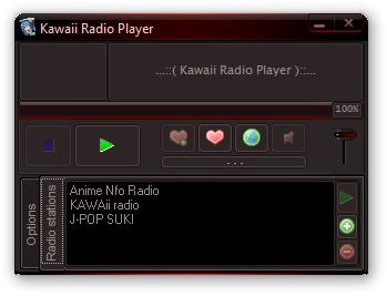 Kawaii Radio Player
