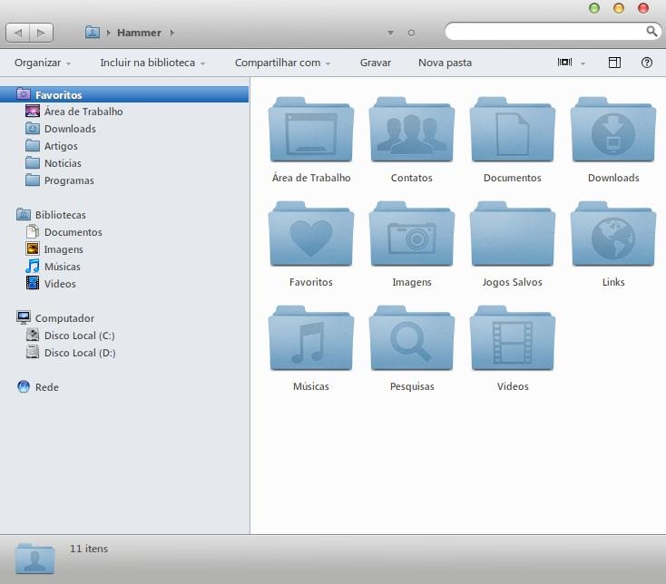 Windows 7 Mac OS X Lion Theme - Imagem 2 do software