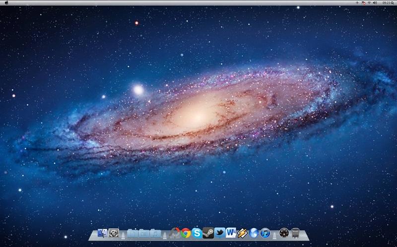 Windows 7 Mac OS X Lion Theme - Imagem 1 do software