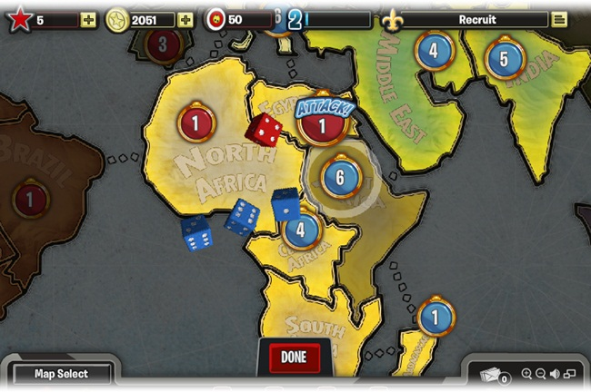 RISK: Factions para Facebook - Imagem 4 do software