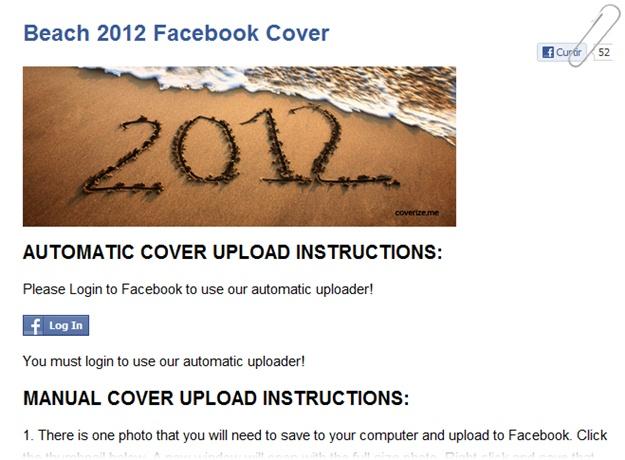 Coverize.me - Imagem 2 do software