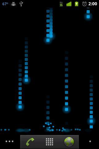 Pixel Rain Live Wallpaper - Imagem 1 do software