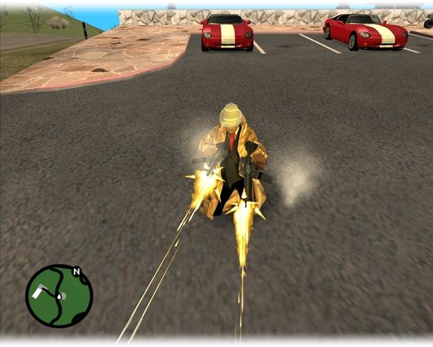 Multi Theft Auto: San Andreas.