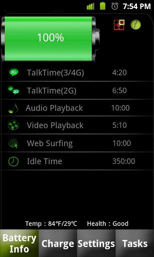 Battery Dr saver+a task killer - Imagem 1 do software