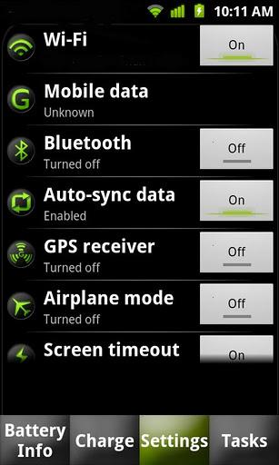 Battery Dr saver+a task killer - Imagem 2 do software