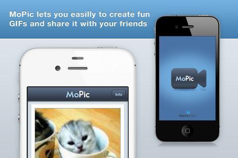 MoPic - Video Animation GIF Creator - Imagem 3 do software