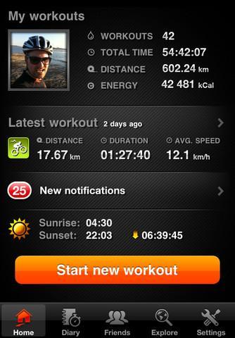 Sports Tracker - Imagem 2 do software