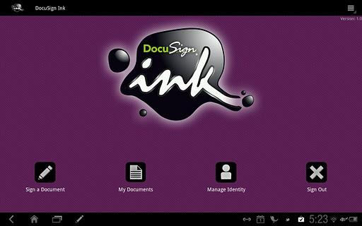 DocuSign Ink - Imagem 2 do software