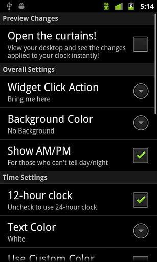 Digital Clock Widget - Imagem 3 do software