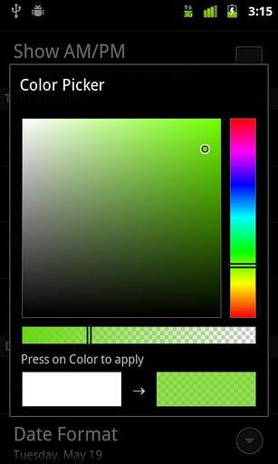 Digital Clock Widget - Imagem 4 do software