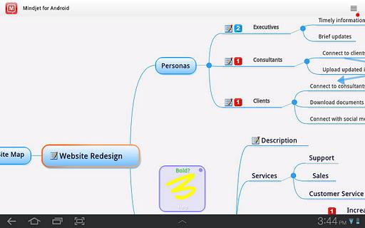 Mindjet for Android - Imagem 1 do software