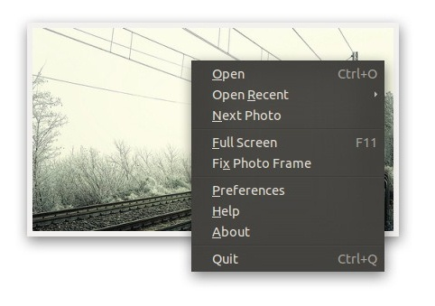 Gnome Photo Frame - Imagem 2 do software