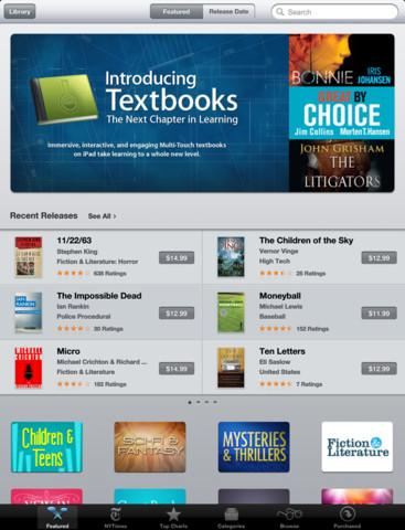 iBooks 2 - Imagem 3 do software