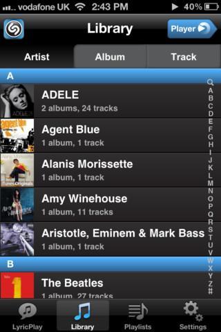 Shazam Player - Imagem 1 do software