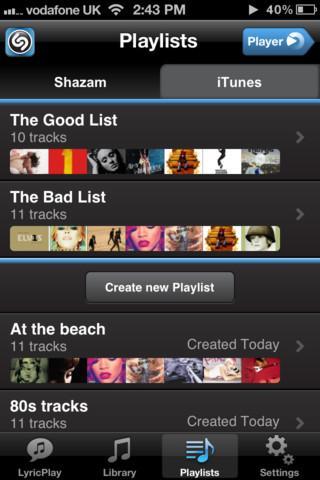 Shazam Player - Imagem 2 do software