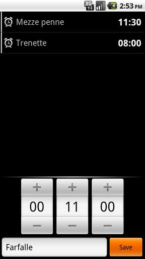 Kitchen Timer - Imagem 2 do software