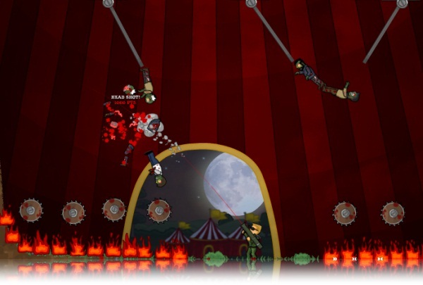 Flaming Zombooka 3: Carnival - Imagem 1 do software