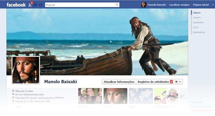 Capa para Facebook do Baixaki - Imagem 1 do software