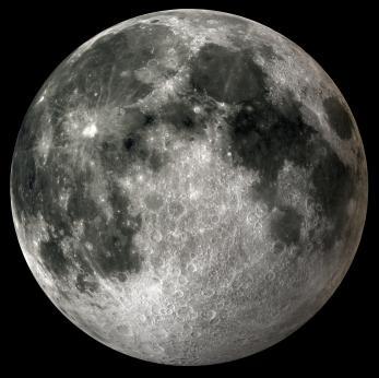 O solo lunar não é seco!