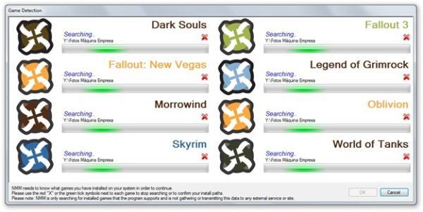 Identificando os jogos instalados