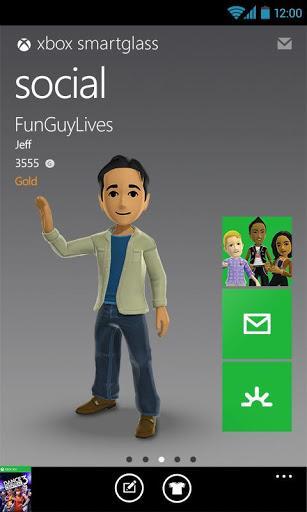 Xbox 360 SmartGlass - Imagem 1 do software