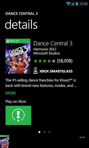 Xbox 360 SmartGlass - Imagem 2 do software