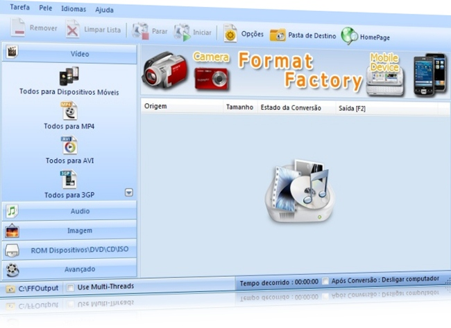dispositivo de saida de audio windows 7 no baixaki