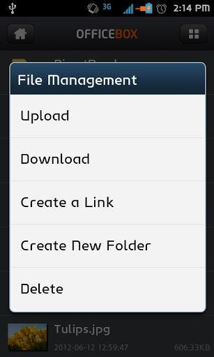 OfficeBox - Imagem 2 do software