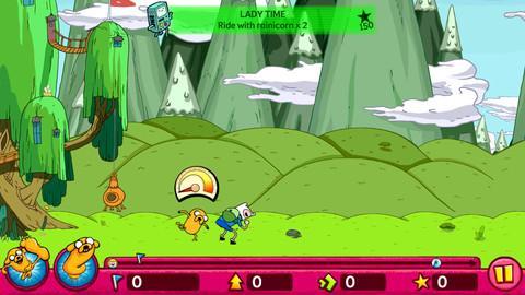 Adventure Time: Super Jumping Finn - Imagem 1 do software